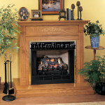 Comfort Glow entfree firebox for ventless gas logs and vent free gas log accessories